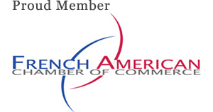 Proud Member of the French-American Chamber of Commerce